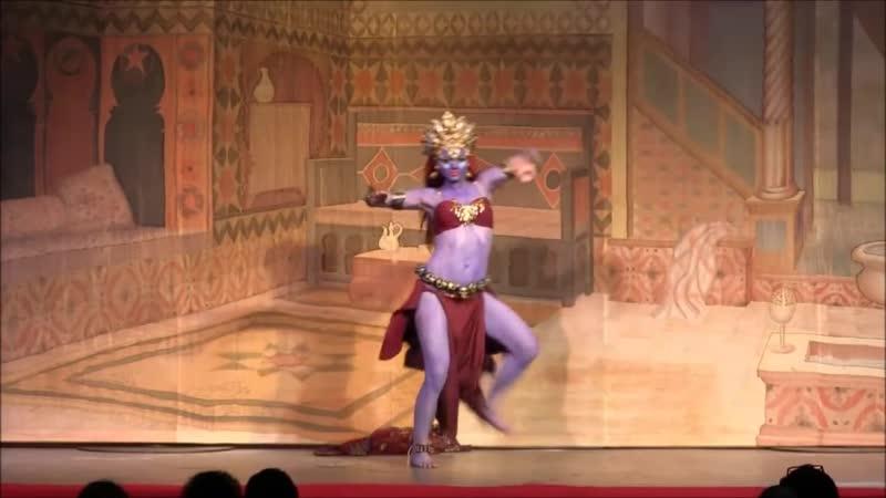 богиня кали Jaydee Amrita @ Tribal Fest 13 Kali Dance