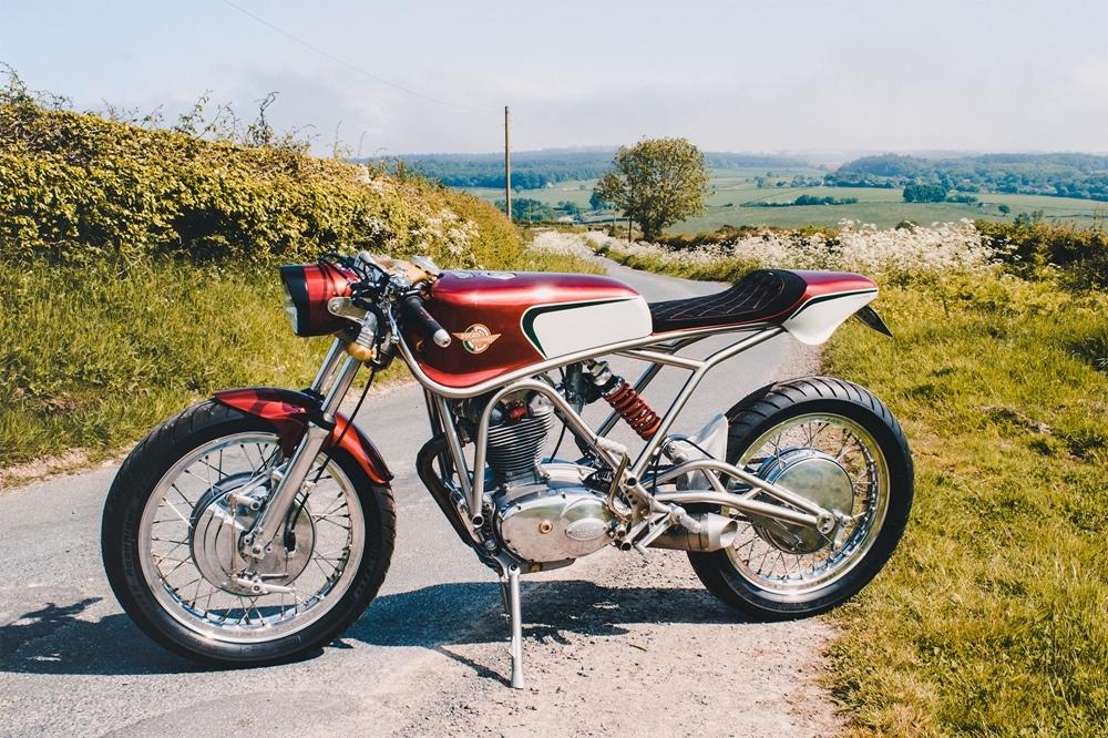 Alonze Custom: кастом Ducati Racer 350 Special