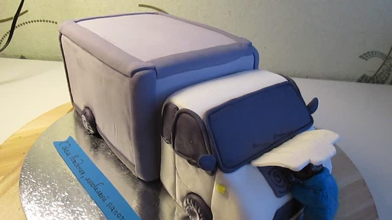 3D торт Грузовая газель