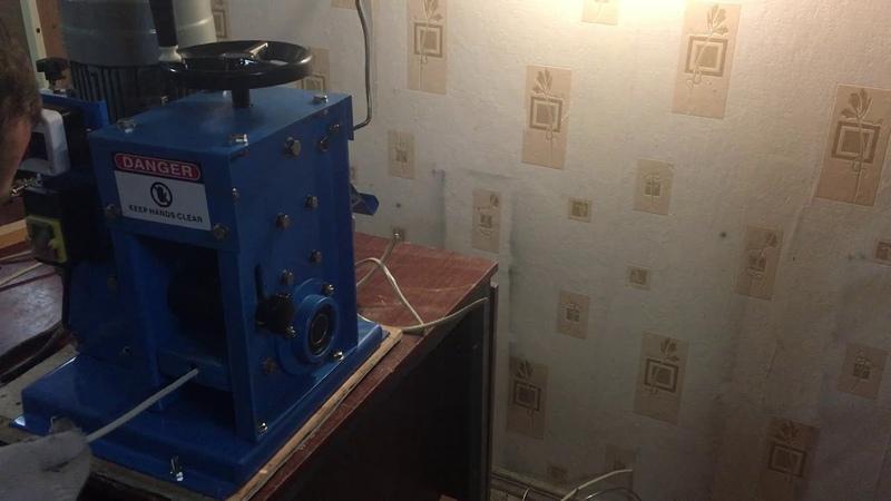 Электрический станок для разделки бронированного кабеля MS-60 и алюмин. провод