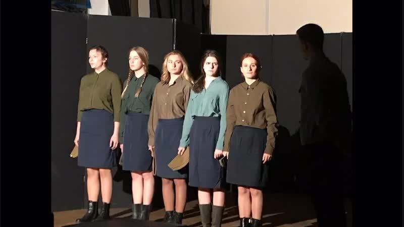 Показ самостоятельных работ по советской драматургии студентов II курса