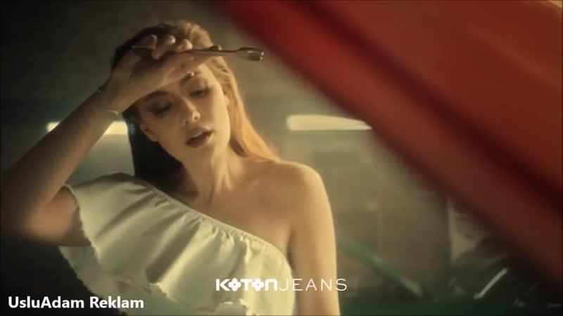 Yeni Koton Fahriye Evcen Reklamı - Şimdi Beyaz Jean Moda