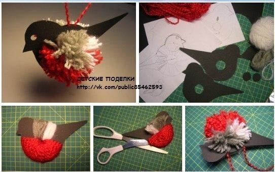 Как сделать птицу своими руками из подручных материалов