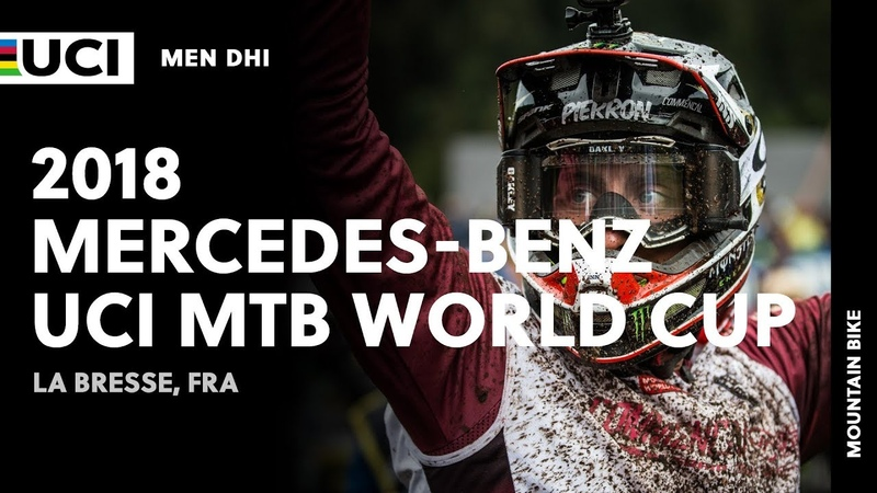 2018 Mercedes-Benz UCI Mountain Bike World Cup - La Bresse (FRA) / Men DHI