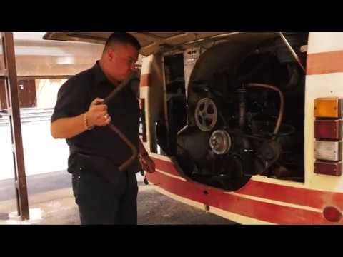 Будущая кинозвезда наш ЛАЗ 695Н. Проверка машины.