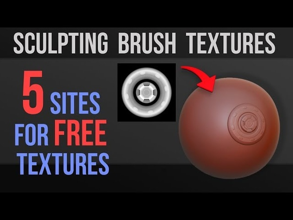 5 Great Free Texture Sites for Brush Alphas