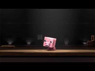 Порки Свинья Minecraft имеет талант [Анимация] / Porky The Pig Minecraft's Got Talent [Animation]