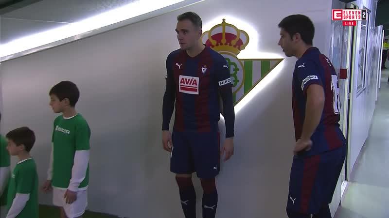 Чемпионат Испании 2018 19 17 й тур Бетис Эйбар 1 тайм