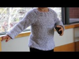How to knit raglan sweater for a child - video tutorial with detailed instructions.