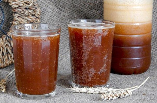Как сделать домашний квас из солода