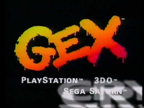 Gex Playstation 3DO Sega Saturn Commercial (1996)