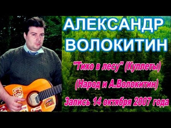 Александр Волокитин -Тихо в лесу (Куплеты) (Народ и А.Волокитин) (Запись 14.10.2007)