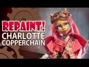 Repaint! Lolita Swap: Charlotte Copperchain Steampunk Custom Doll