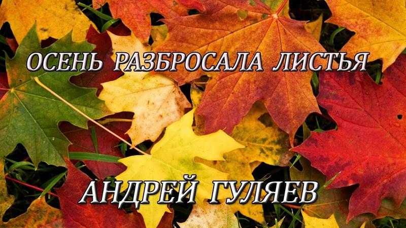 Осень разбросала листья - Андрей Гуляев