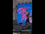 Liam and Zedd performing Get Low
