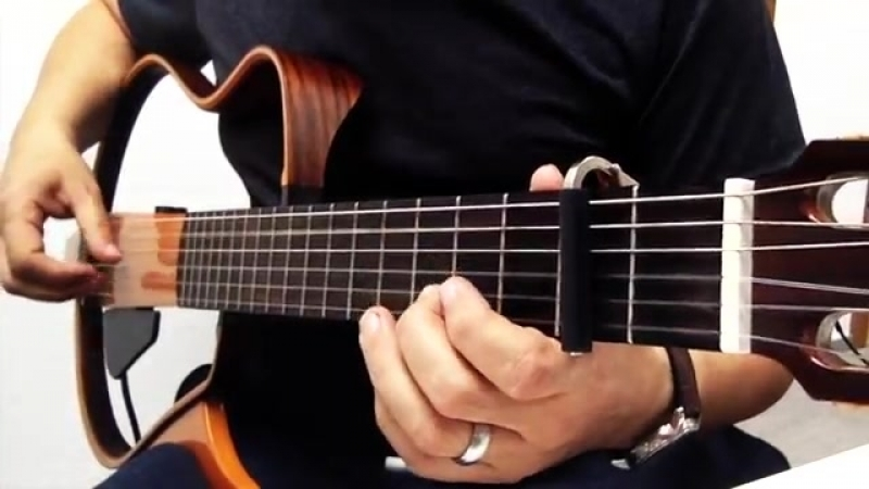 Gitar ile HASRETINLE YANDI GÖNLÜM