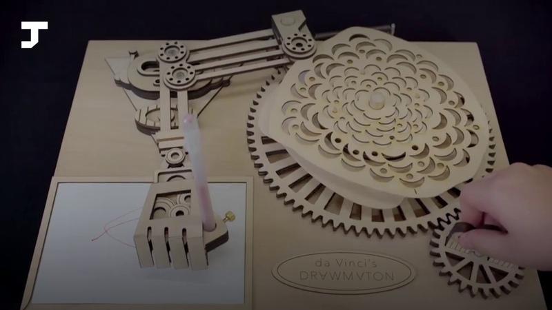 Инженер частично воссоздал «рисующего» робота Леонардо да Винчи
