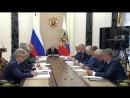 Встреча Главы Государства 🇷🇺 с руководством госкорпорации «Роскосмос»