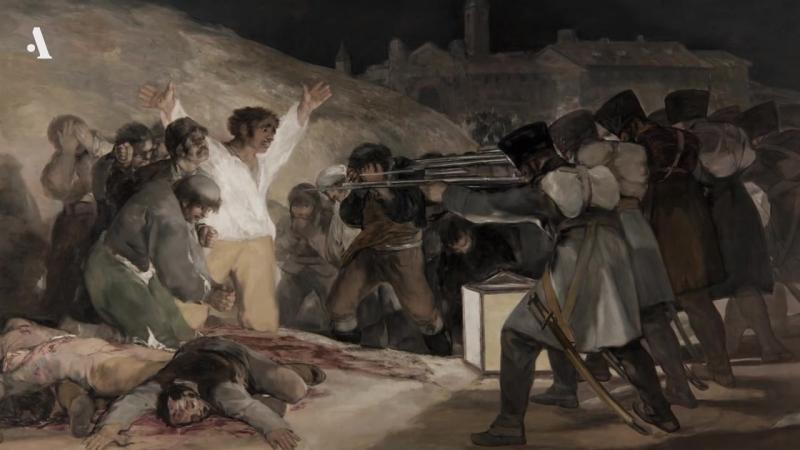 «Расстрел повстанцев» Франсиско Гойи