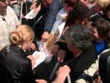 Юлія Тимошенко в Валках 13.05.2014