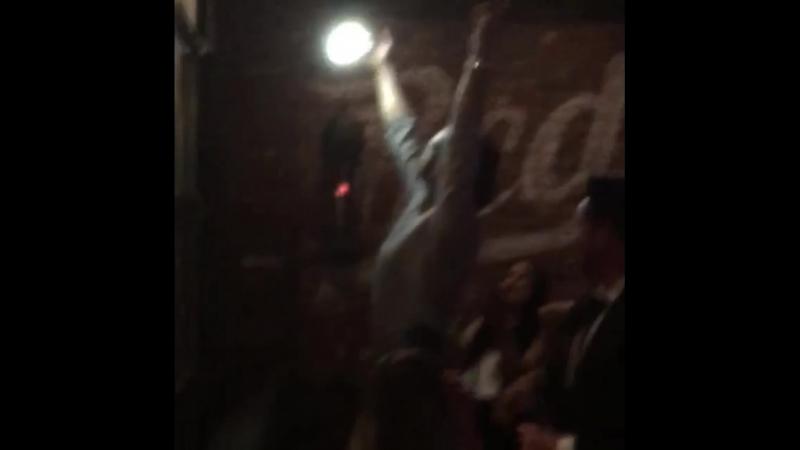 Джаред на вечеринке в честь окончания 13-го сезона СПН в Ванкувере