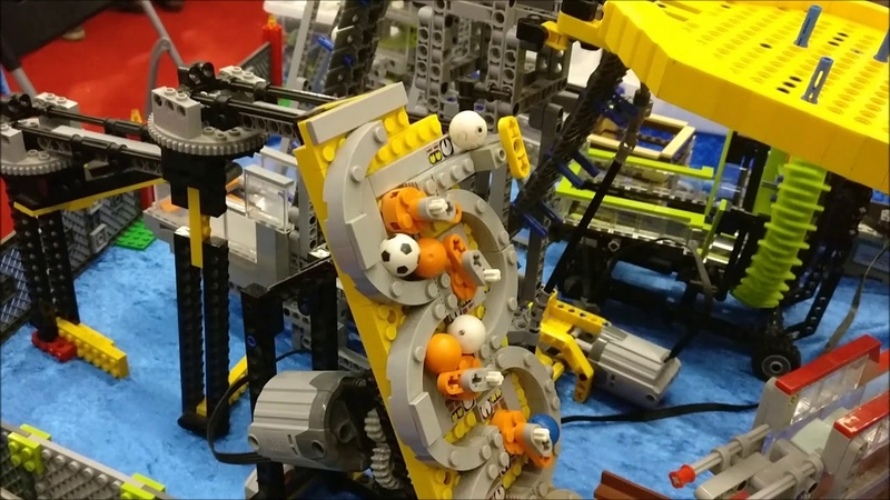 LEGO Great Ball Contraption at Deutsches Museum in Bonn 2018 edition