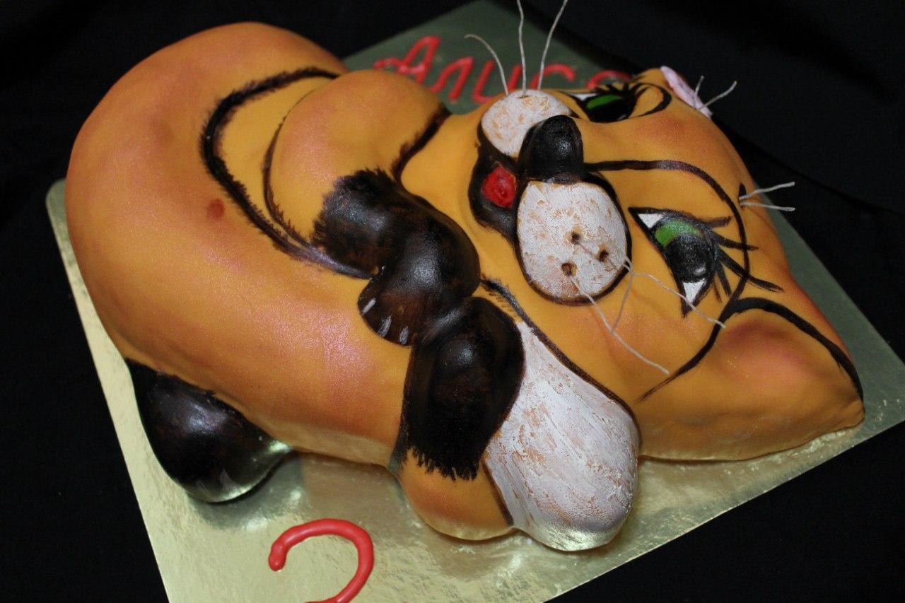 Торт с лисами 8 фотография