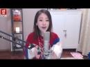 Красивая кореянка поет песню про животных. Korean girl