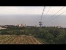 Небольшой таймлепс с канатной дороги Ай-Петри