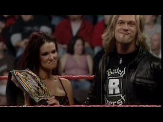 WWE-Raw.09.01.2006.Edge and Lita on a Bed.