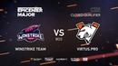 Winstrike Team vs Virtus.pro, EPICENTER Major 2019 CIS Closed Quals , bo3, game 1 [Adekvat Smile]
