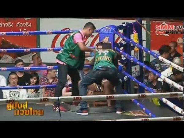 ราชสีห์ Vs สี่แคว | Ratchasi Vs Sikwae, 18 มิถุนายน 2561 | Muay Thai Daily