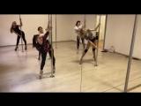 Александра Киноян. Exot связка с группы.   Kats dance studio