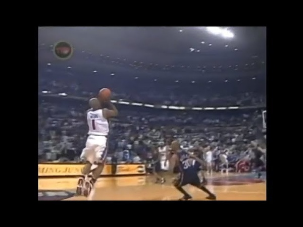 Chauncey Billups Buries Half-Court Miracle vs. Nets (2004 Playoffs - Full Sequence)