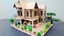 Dreamhouse!! How To Make A Beautiful Mansion House From Cardboard - Popsicle Stick Crafts