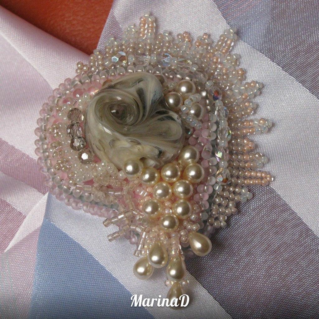 Альбом пользователя MarinaD: Брошь Морское сокровище