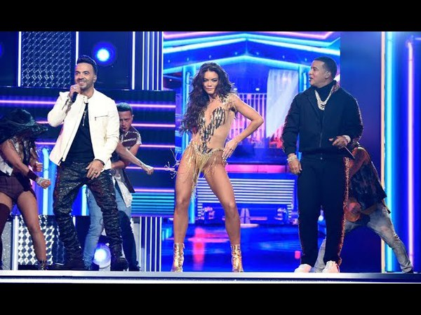 Luis Fonsi Daddy Yankee Zuleyka Rivera -Despacito Live Grammys 2018 original 1080p