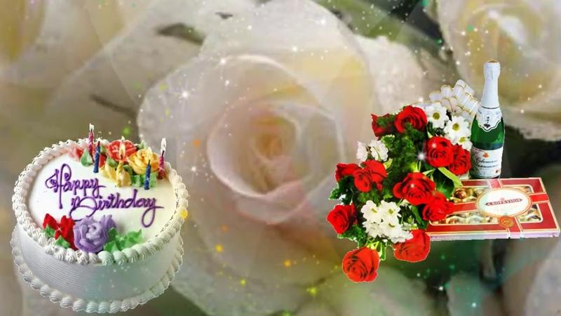 🌸 💐Несравненно красивое видео поздравление с Днем Рождения женщине 🌸 💐