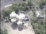 Командир украинской авиаразведки опубликовал кадры разгрома техники ВСУподГорловкой