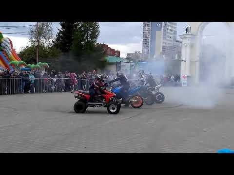 02 06 2018г день мотоциклиста в парке Маяковского ЕКБ №4