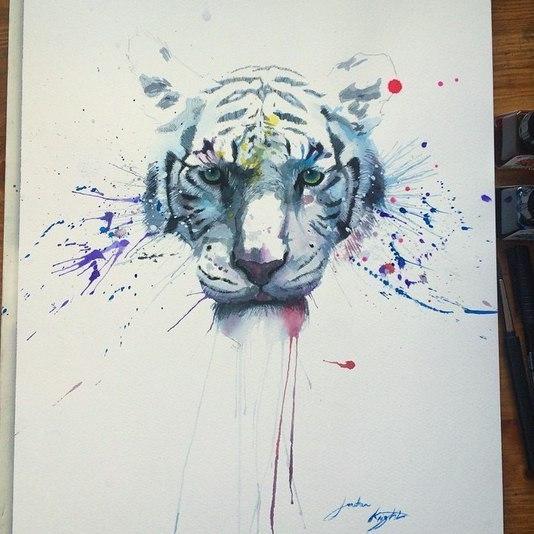Крутые идеи с тиграми