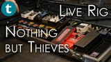 '70 Les Paul through Motherships Nothing but thieves Live Rig