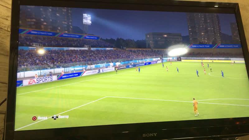 Мой самый лучший гол в FIFA19