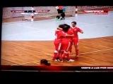 AMAZING Rainbow flick Goal woman's futsal - Rita Martins (Benfica) v Santa Iria