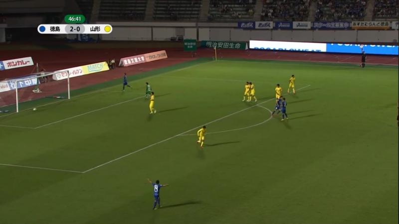Tokushima Vortis - Montedio Yamagata 5 - 1 18082018 - J2 League - Jornada 29