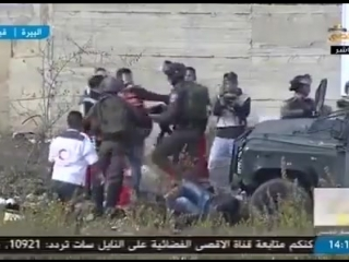 Работа израильского подразделения МАГАВ во время арабских беспорядков