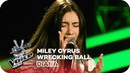 Miley Cyrus - Wrecking Ball (Diana) l Blind Auditions | The Voice Kids 2018 | SAT.1