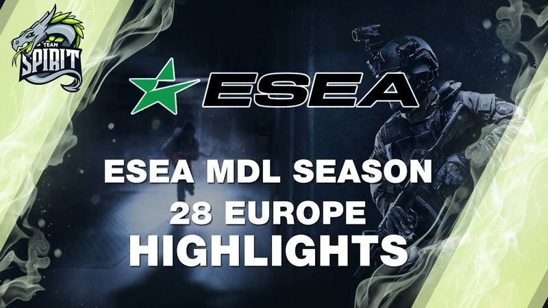 ESEA MDL Season 28 Europe Highlights