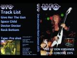 Ufo - 1975 - Don Kirshners Rock Concert