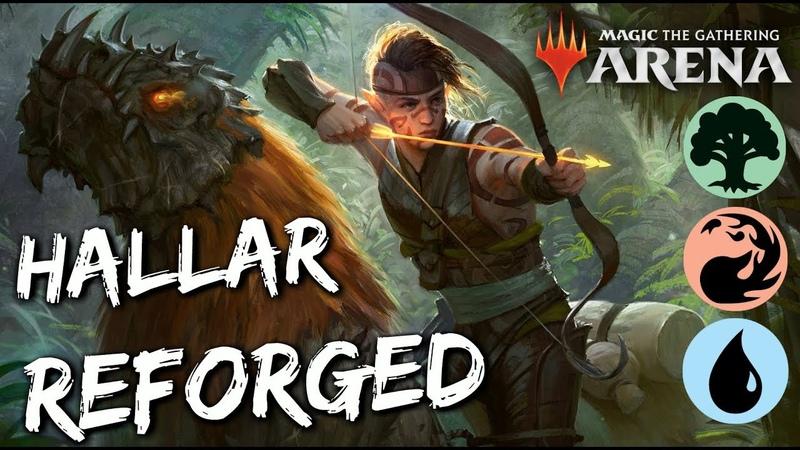 Hallar Reforged [MTG Arena] | Temur Elves in M19 Standard